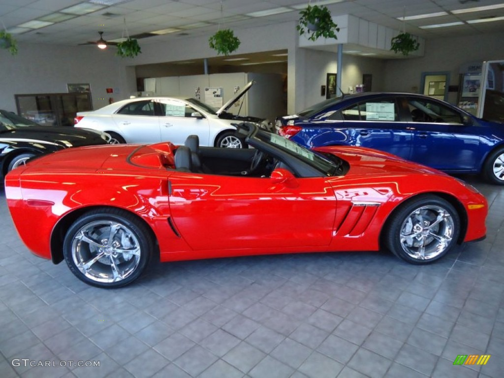Torch red 2012 chevrolet corvette grand sport convertible exterior photo 64458003 gtcarlot com