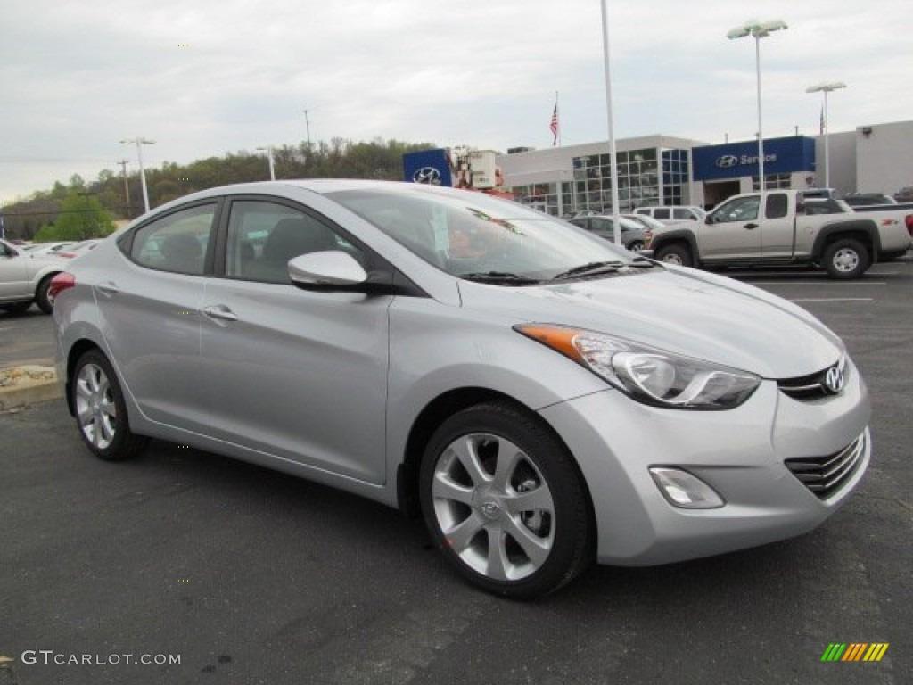 2013 Silver Hyundai Elantra Limited 64404334 Gtcarlot