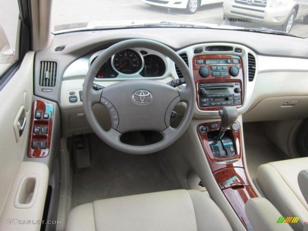 2004 Vintage Gold Metallic Toyota Highlander Limited V6 4wd 64404315 Photo 14
