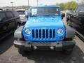 2011 Cosmos Blue Jeep Wrangler Sport 4x4  photo #2