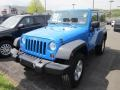 2011 Cosmos Blue Jeep Wrangler Sport 4x4  photo #3