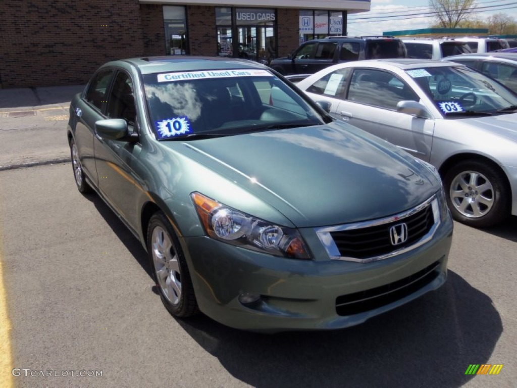 2010 mystic green metallic honda accord ex l v6 sedan 64404291 car color galleries. Black Bedroom Furniture Sets. Home Design Ideas