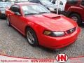 2001 Performance Red Ford Mustang GT Coupe  photo #1