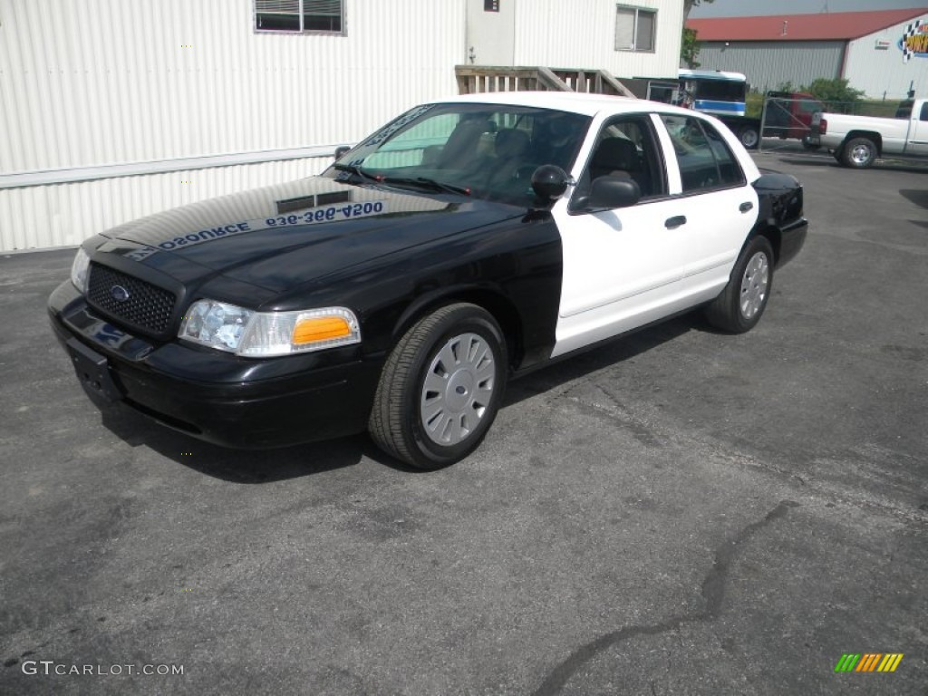 black  ford crown victoria police interceptor exterior