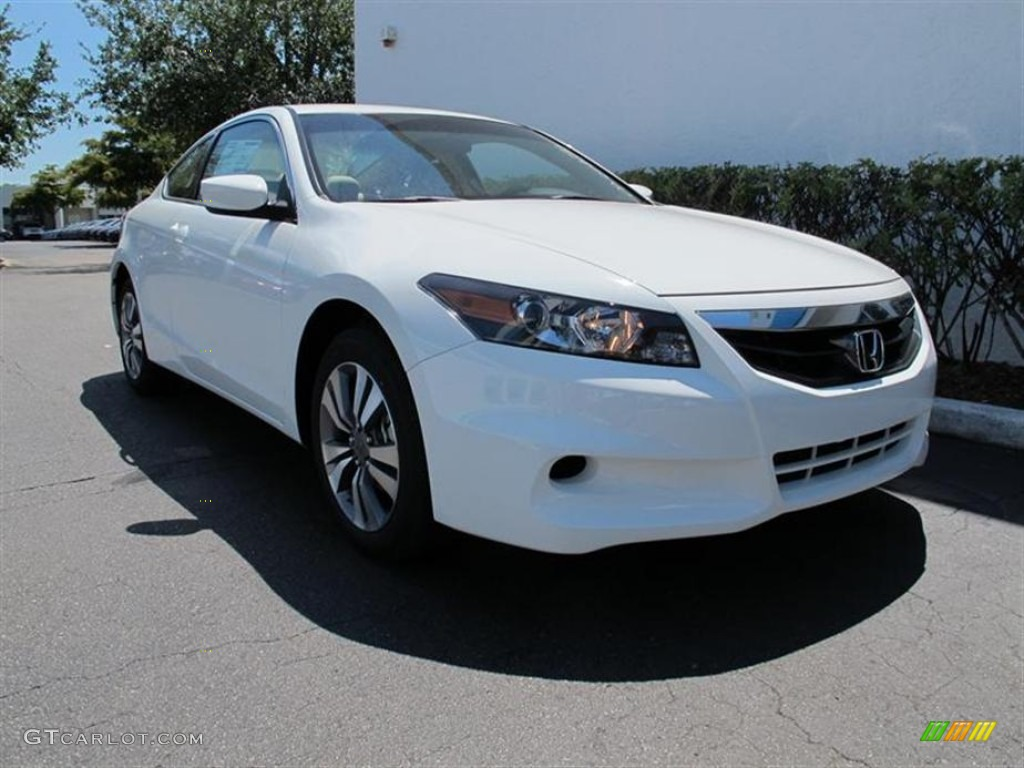 Taffeta White 2012 Honda Accord Lx S Coupe Exterior Photo