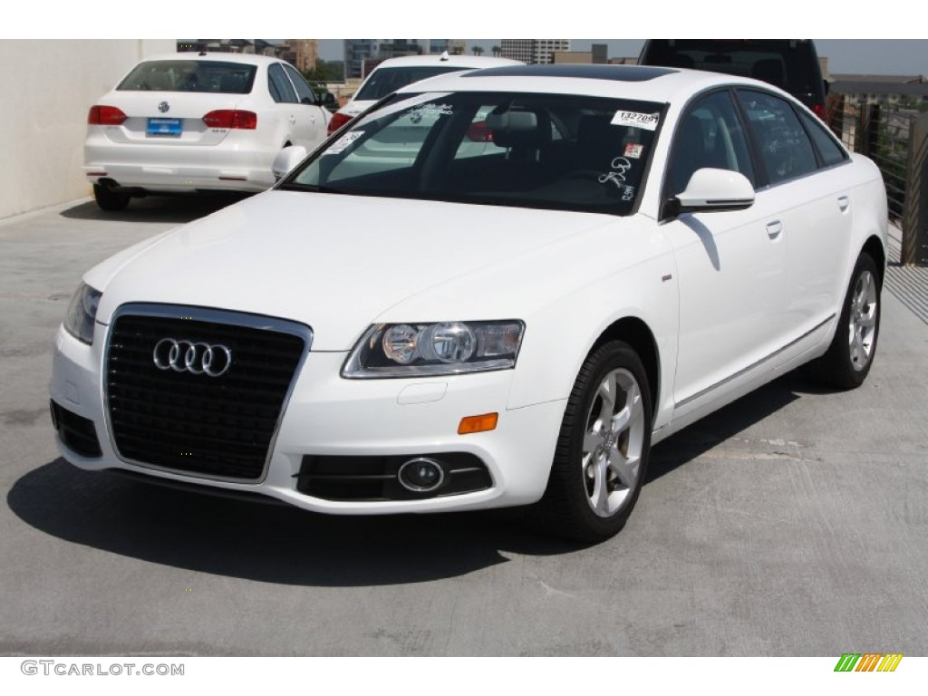 ibis white 2011 audi a6 3 2 sedan exterior photo 64505569. Black Bedroom Furniture Sets. Home Design Ideas