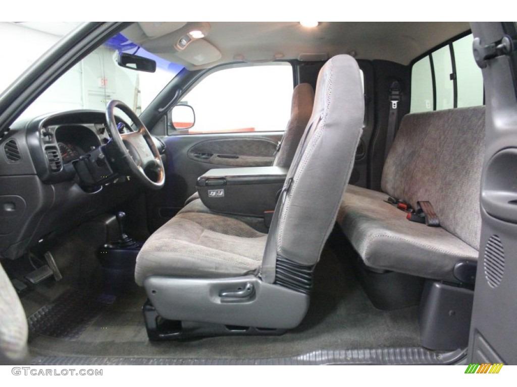 Agate Interior 1998 Dodge Ram 3500 Laramie Slt Extended