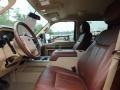 2012 Golden Bronze Metallic Ford F250 Super Duty King Ranch Crew Cab 4x4  photo #3