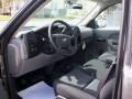 2012 Mocha Steel Metallic Chevrolet Silverado 1500 Work Truck Regular Cab 4x4  photo #21