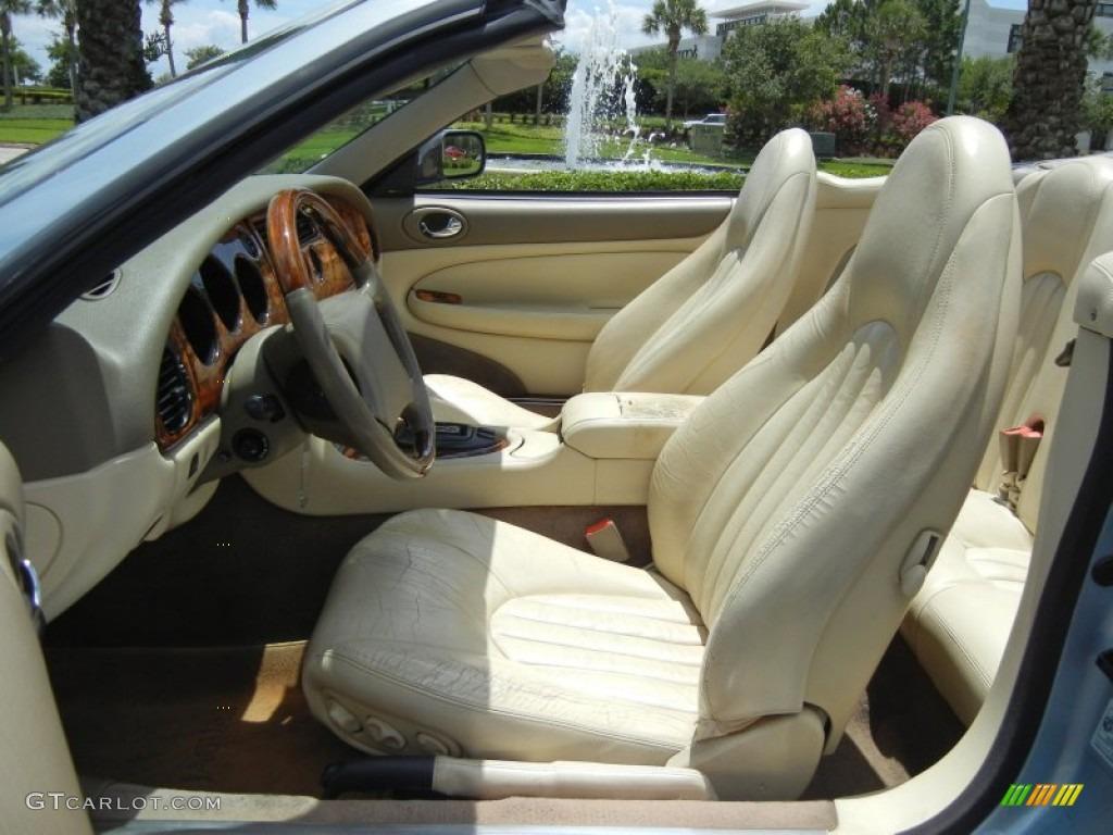 Oatmeal Interior 1997 Jaguar XK XK8 Convertible Photo