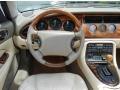 1997 Jaguar XK Oatmeal Interior Dashboard Photo