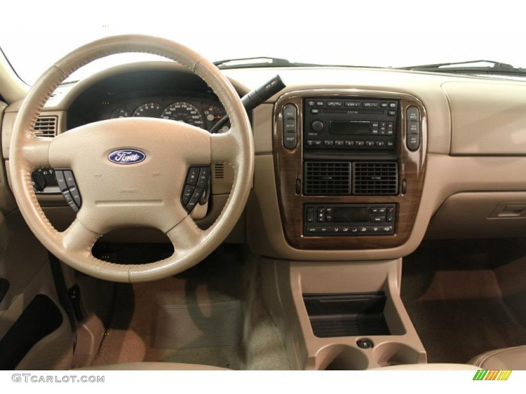 2005 Ford Explorer Eddie Bauer 4x4 Medium Parchment Dashboard
