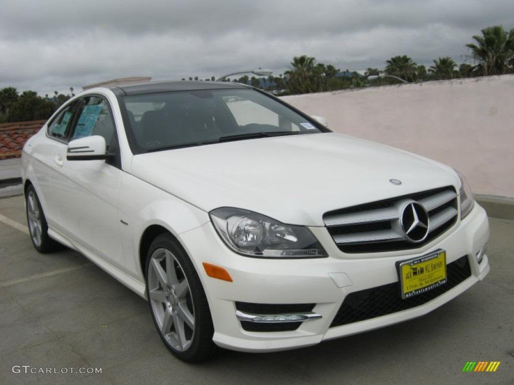 Diamond White Metallic Mercedes Benz C