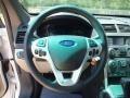 Medium Light Stone Steering Wheel Photo for 2013 Ford Explorer #64561550