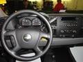 2011 Black Chevrolet Silverado 1500 LS Regular Cab 4x4  photo #7