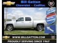 2012 Silver Ice Metallic Chevrolet Silverado 1500 LTZ Crew Cab 4x4  photo #1