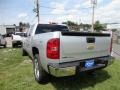 2012 Silver Ice Metallic Chevrolet Silverado 1500 LTZ Crew Cab 4x4  photo #3
