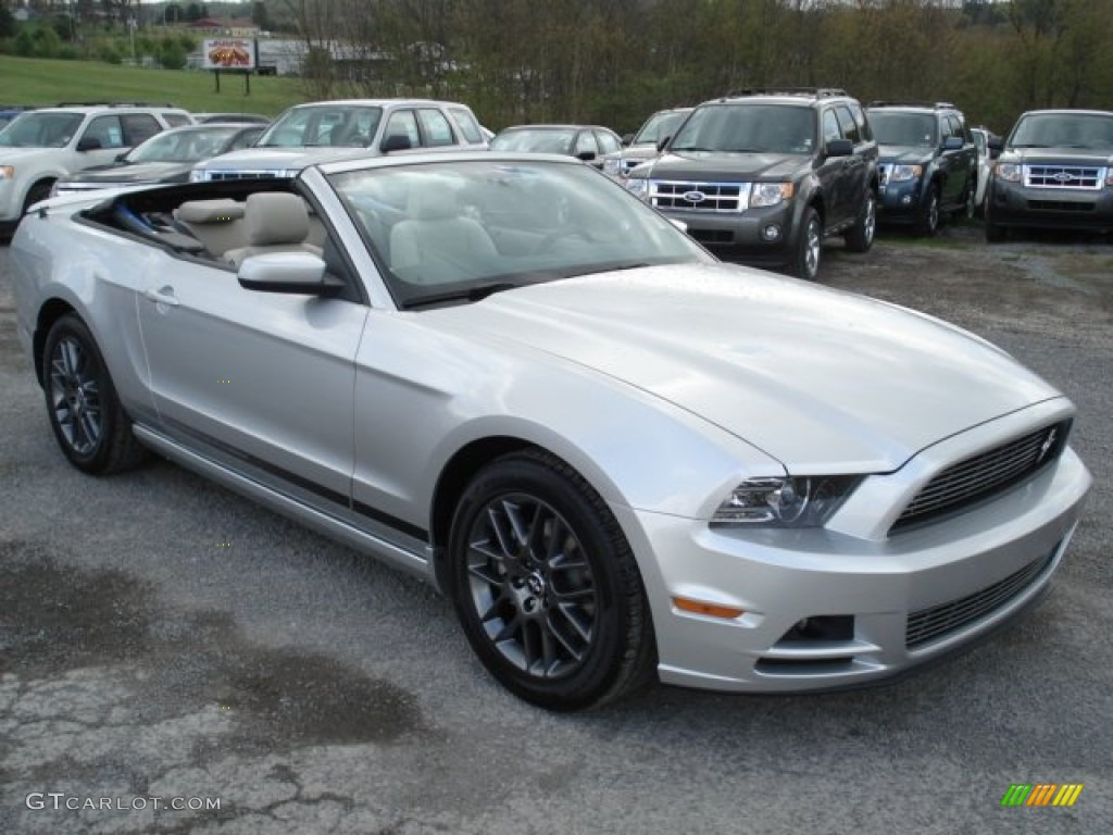 Ingot silver metallic 2013 ford mustang v6 mustang club of america edition convertible exterior