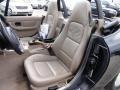2002 BMW Z3 Beige Interior Front Seat Photo
