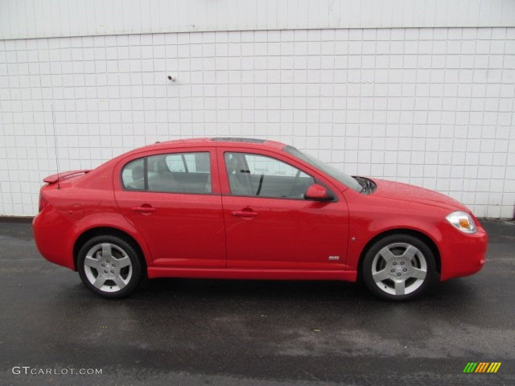 victory red 2006 chevrolet cobalt ss sedan exterior photo. Black Bedroom Furniture Sets. Home Design Ideas