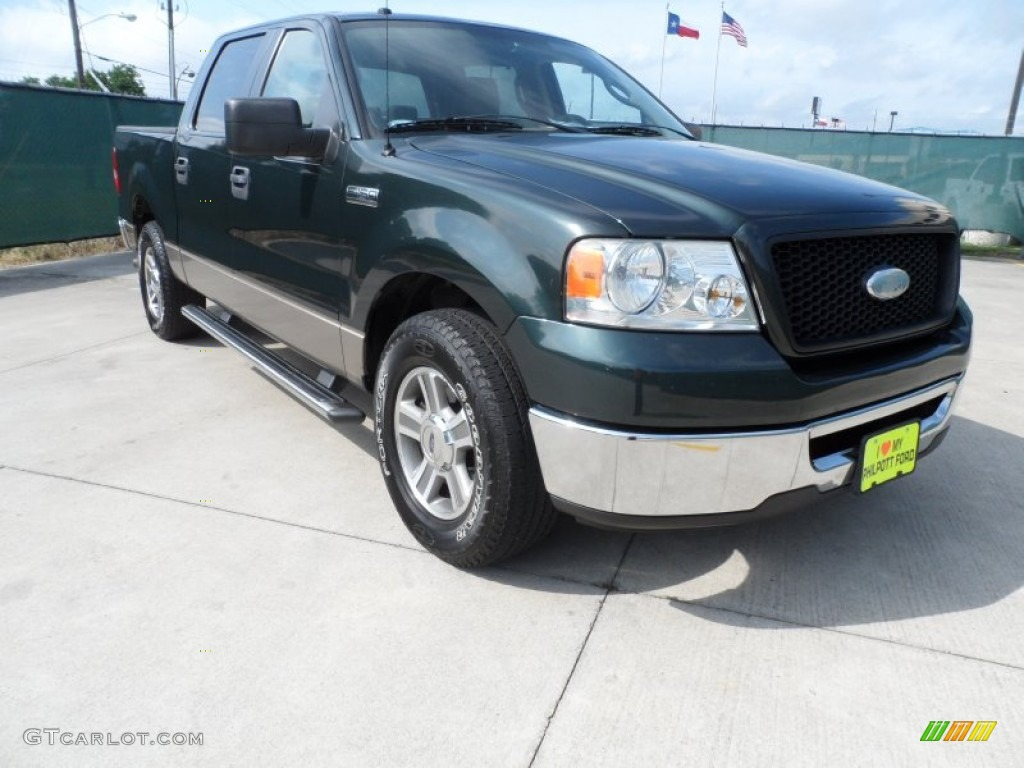 2006 aspen green metallic ford f150 xlt supercrew. Black Bedroom Furniture Sets. Home Design Ideas