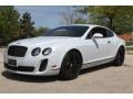Ice White 2010 Bentley Continental GT Supersports