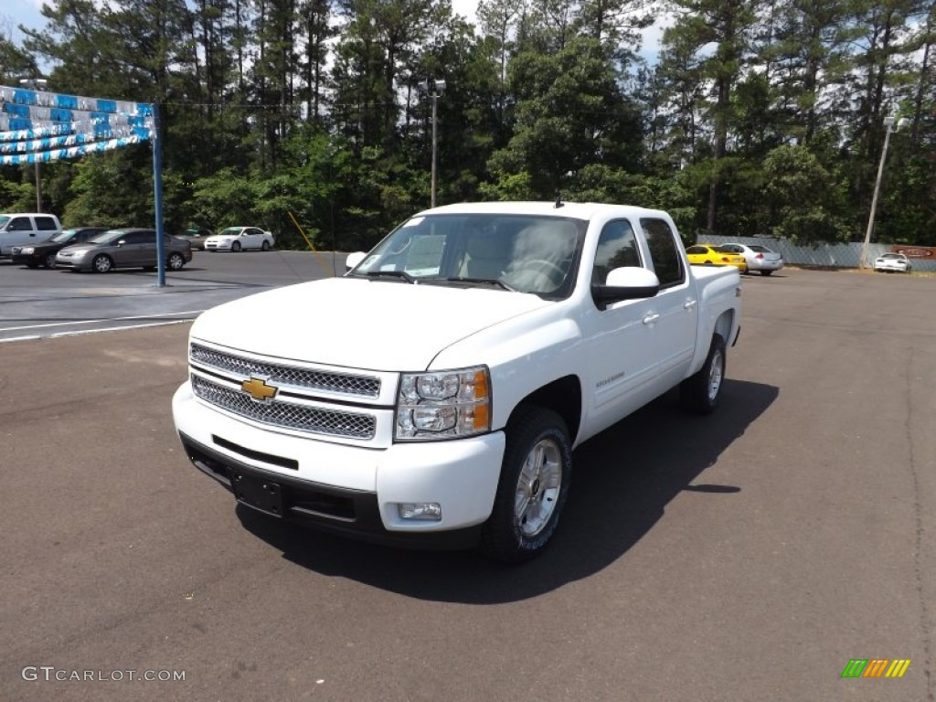Summit White Chevrolet Silverado 1500