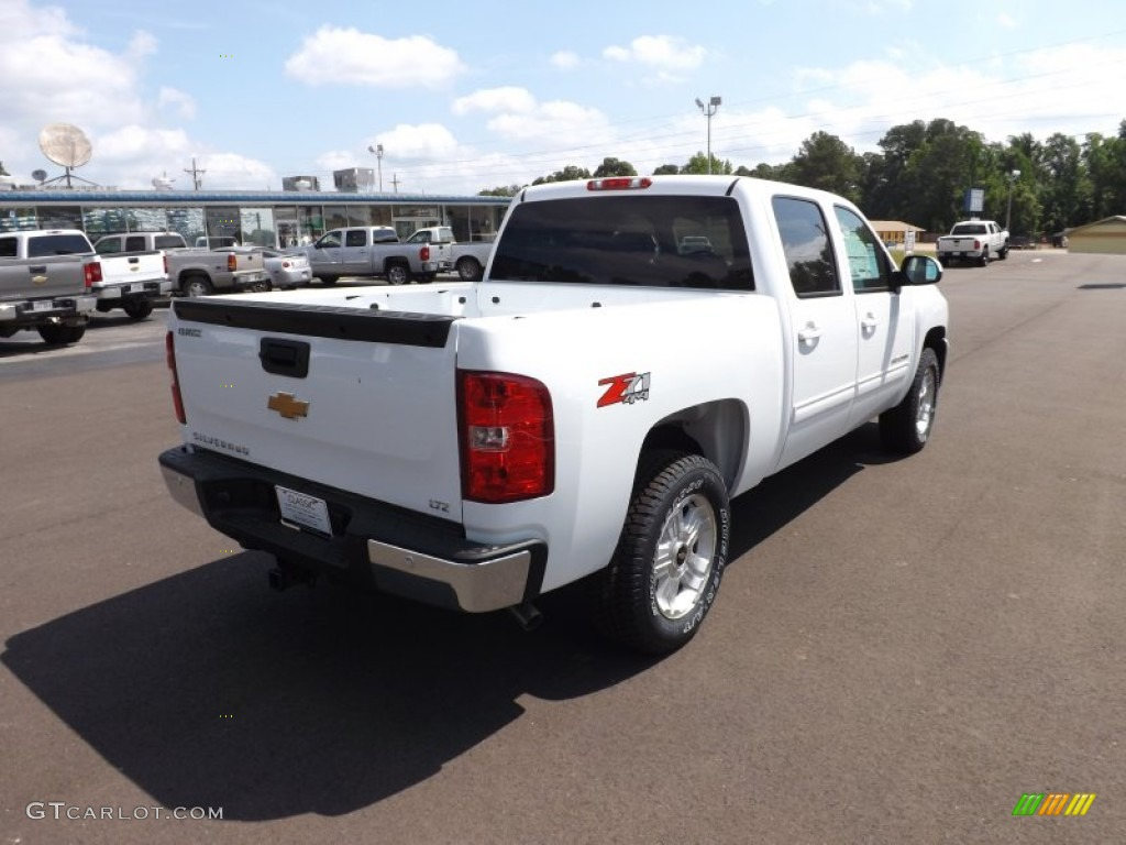 2012 Silverado 1500 LTZ Crew Cab 4x4 - Summit White / Light Cashmere/Dark Cashmere photo #5