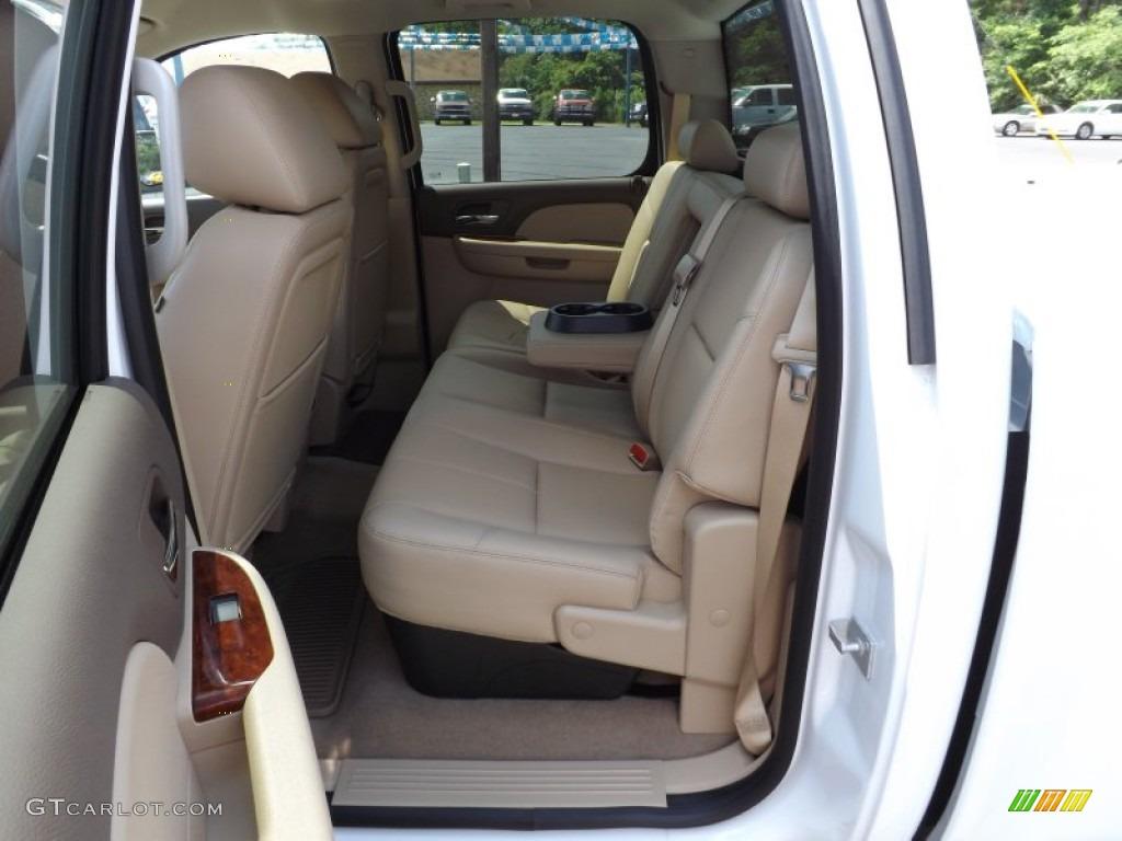 2012 Silverado 1500 LTZ Crew Cab 4x4 - Summit White / Light Cashmere/Dark Cashmere photo #15