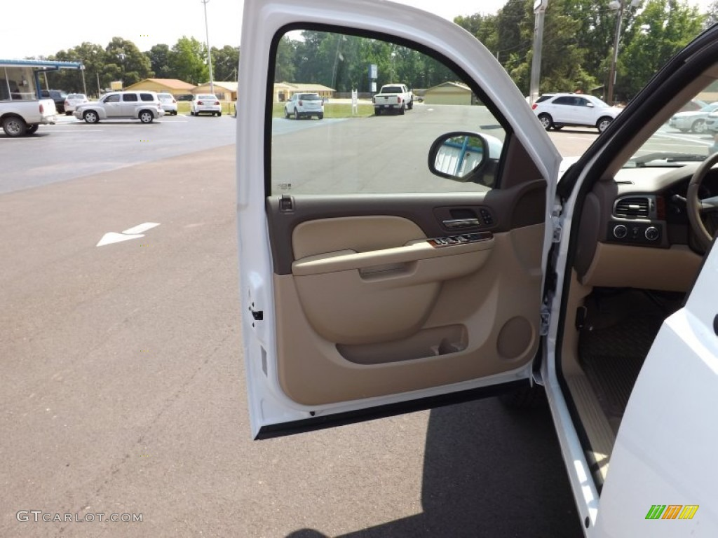 2012 Silverado 1500 LTZ Crew Cab 4x4 - Summit White / Light Cashmere/Dark Cashmere photo #16