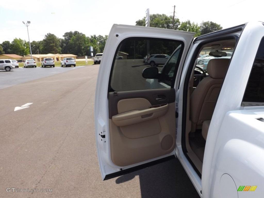2012 Silverado 1500 LTZ Crew Cab 4x4 - Summit White / Light Cashmere/Dark Cashmere photo #18