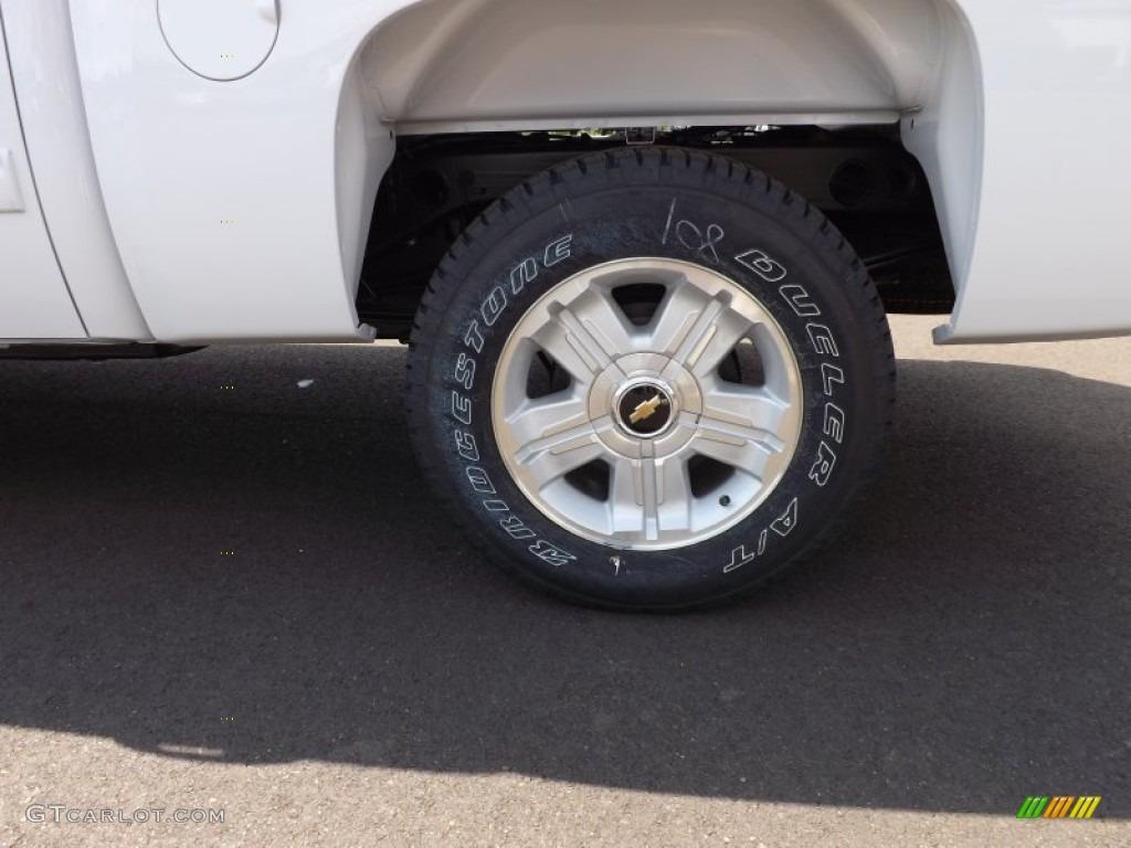 2012 Silverado 1500 LTZ Crew Cab 4x4 - Summit White / Light Cashmere/Dark Cashmere photo #21