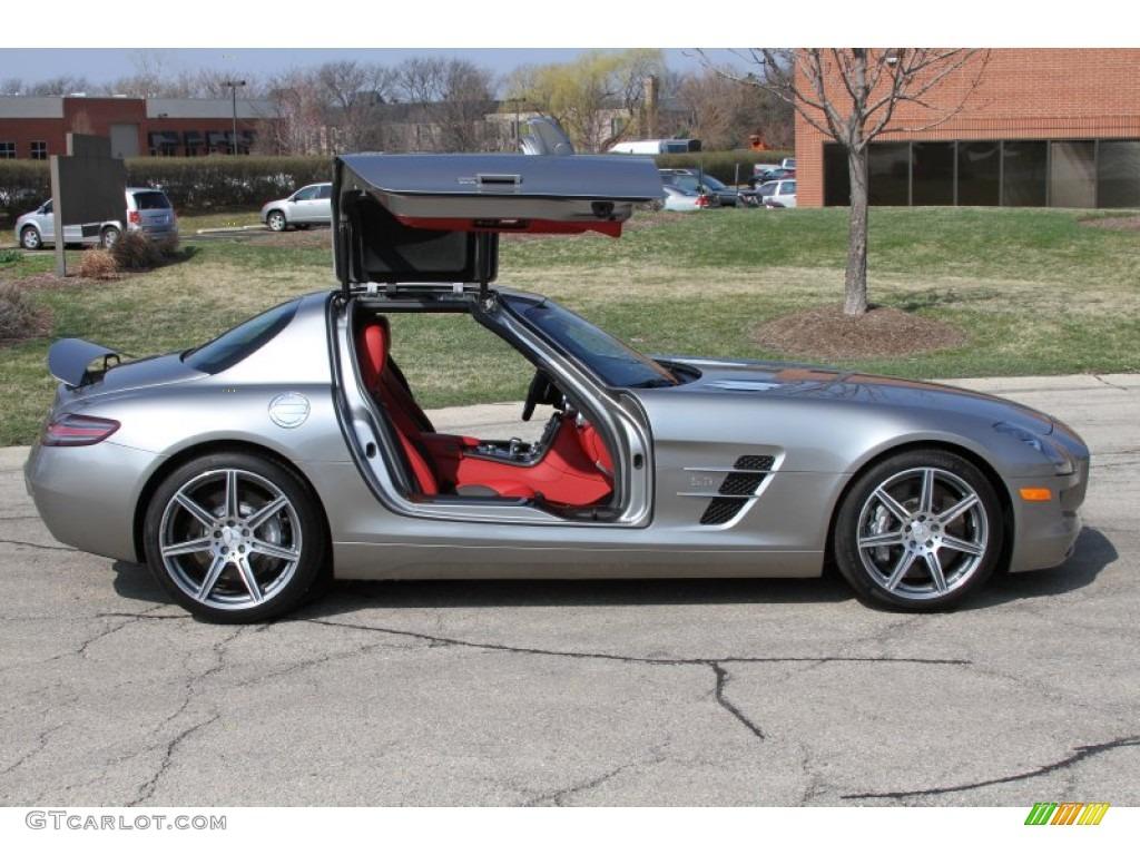 2011 alu beam metallic mercedes benz sls amg 64554841 for Mercedes benz white paint