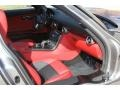 2011 SLS AMG designo Classic Red and Black Two-Tone Interior