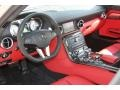 2011 SLS designo Classic Red and Black Two-Tone Interior