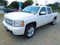 2012 White Diamond Tricoat Chevrolet Silverado 1500 LTZ Crew Cab 4x4  photo #2