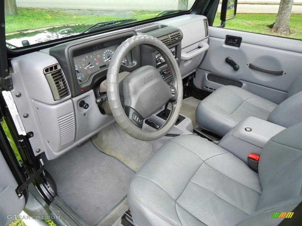 1998 Jeep Wrangler Sport 4x4 Interior Photo 64606296