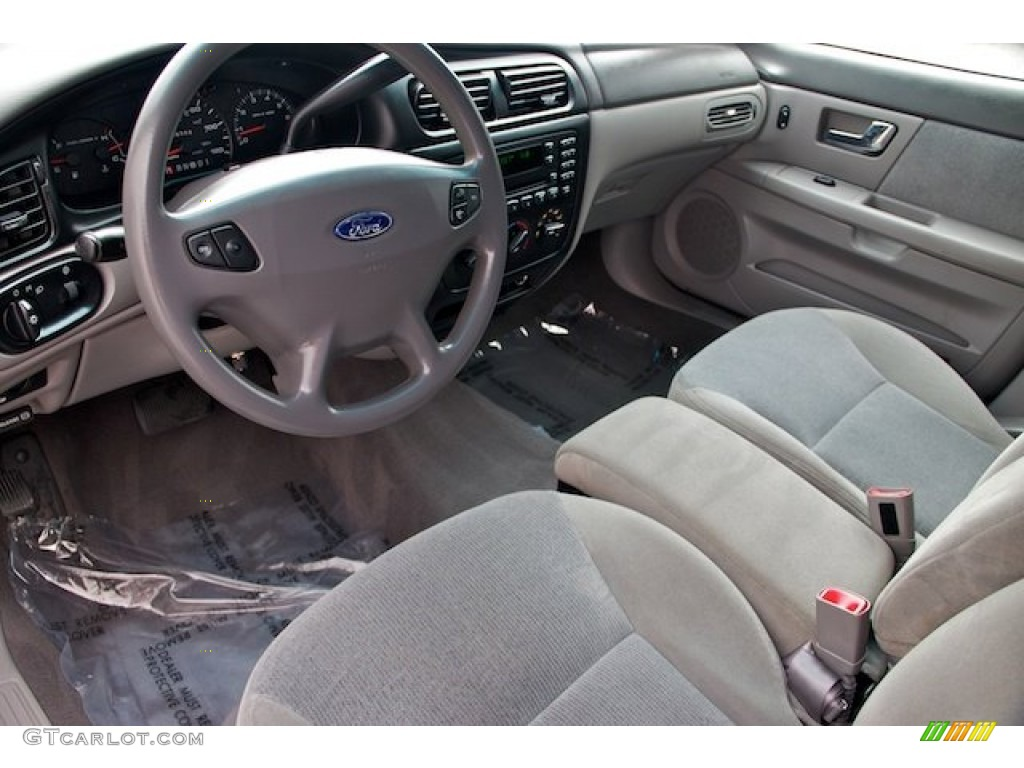 Medium Graphite Interior 2001 Ford Taurus SES Photo ...