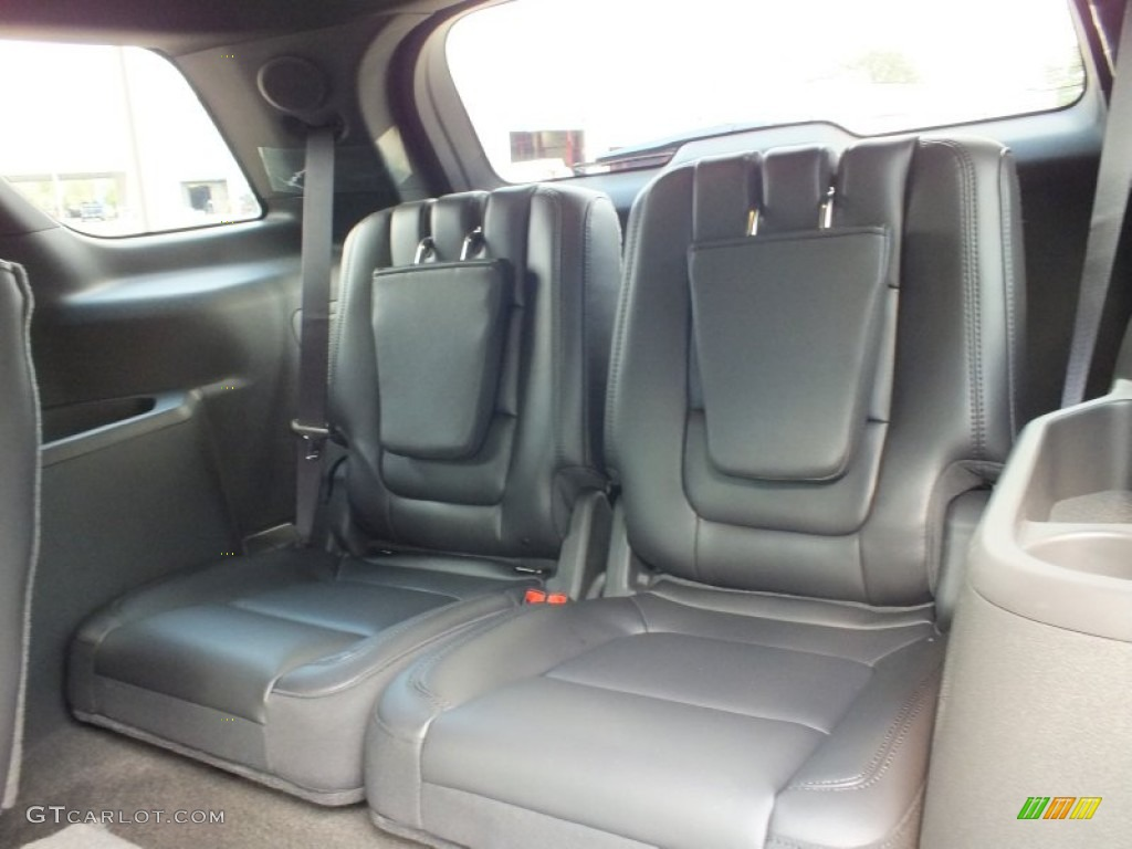 Charcoal Black Interior 2013 Ford Explorer Limited Photo #64613786