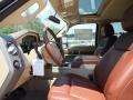 2012 Autumn Red Metallic Ford F250 Super Duty King Ranch Crew Cab 4x4  photo #3