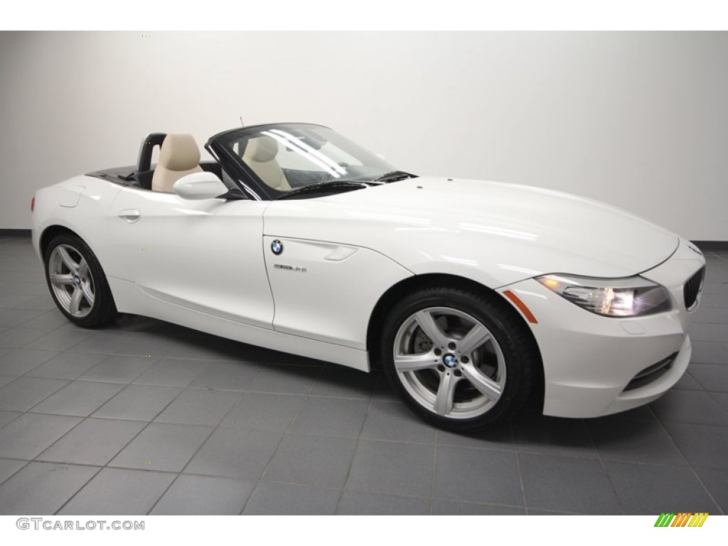 Alpine White 2010 Bmw Z4 Sdrive30i Roadster Exterior Photo