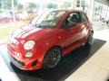 Front 3/4 View of 2012 500 Abarth