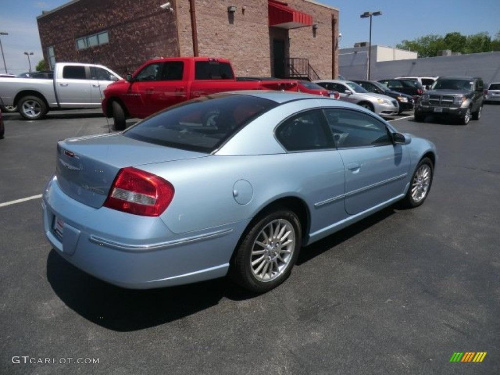 light blue pearl 2004 chrysler sebring limited coupe. Black Bedroom Furniture Sets. Home Design Ideas