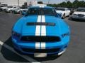 2011 Grabber Blue Ford Mustang Shelby GT500 SVT Performance Package Coupe  photo #3