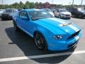 2011 Grabber Blue Ford Mustang Shelby GT500 SVT Performance Package Coupe  photo #5
