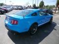 2011 Grabber Blue Ford Mustang Shelby GT500 SVT Performance Package Coupe  photo #6