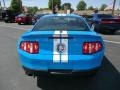 2011 Grabber Blue Ford Mustang Shelby GT500 SVT Performance Package Coupe  photo #7