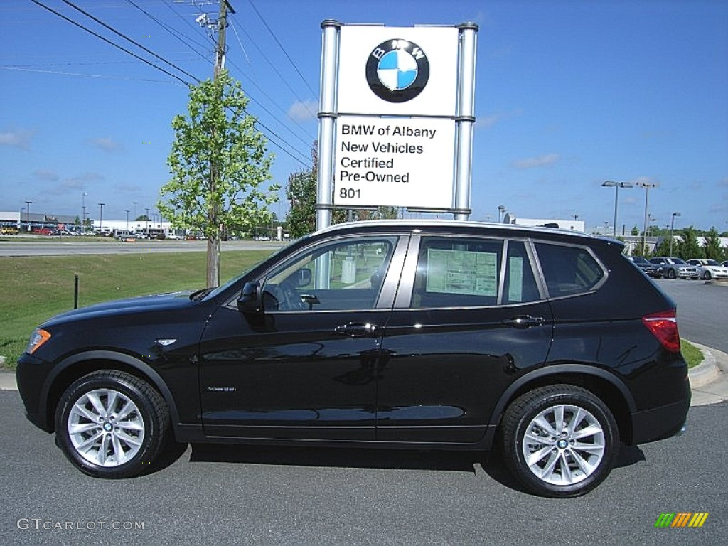 2013 Jet Black BMW X3 xDrive 28i 64611831  GTCarLotcom  Car