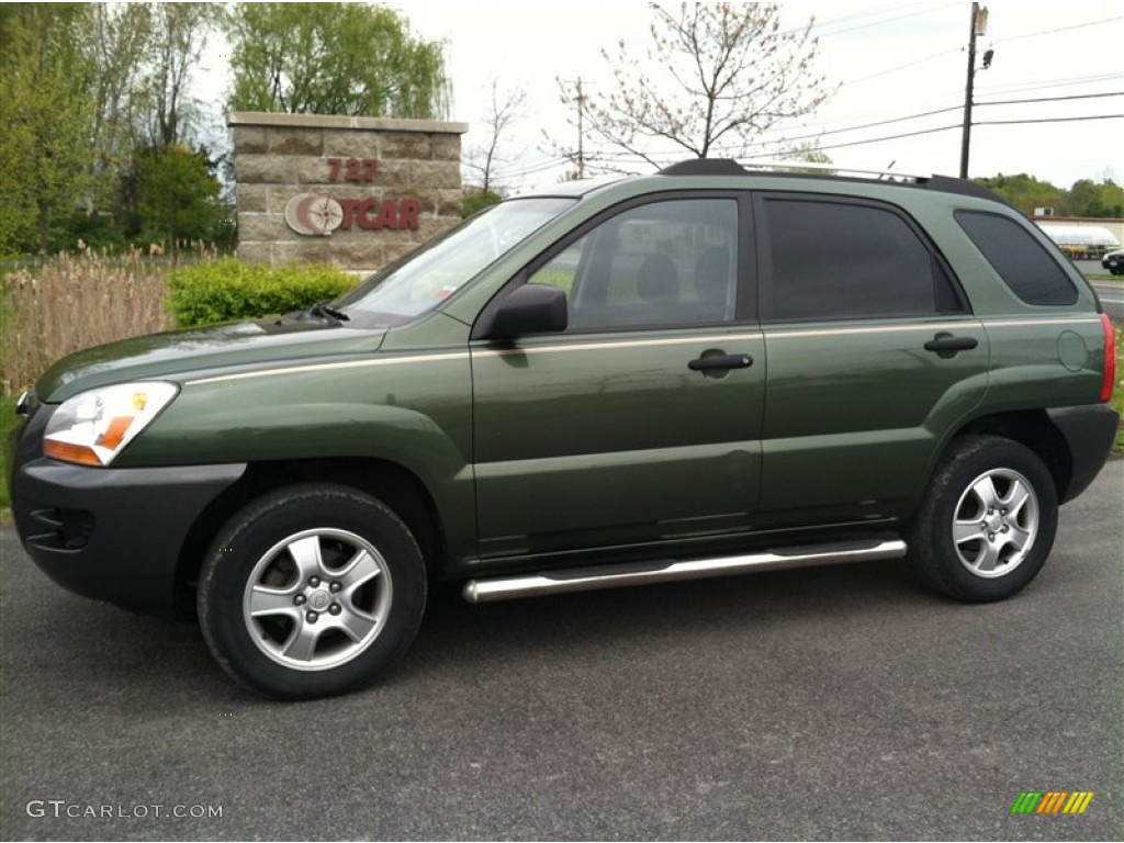 2006 royal jade green kia sportage lx 64611828 gtcarlot. Black Bedroom Furniture Sets. Home Design Ideas