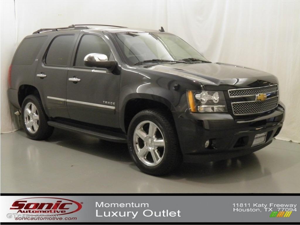 2012 Black Granite Metallic Chevrolet Tahoe LTZ 64611805